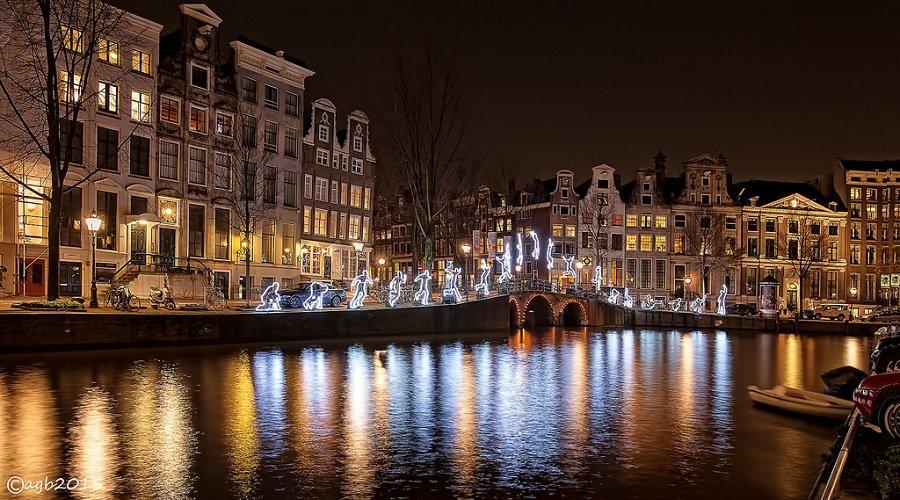 Holandia, Amsterdam Light Festival 2015/2016 [zdjęcia]