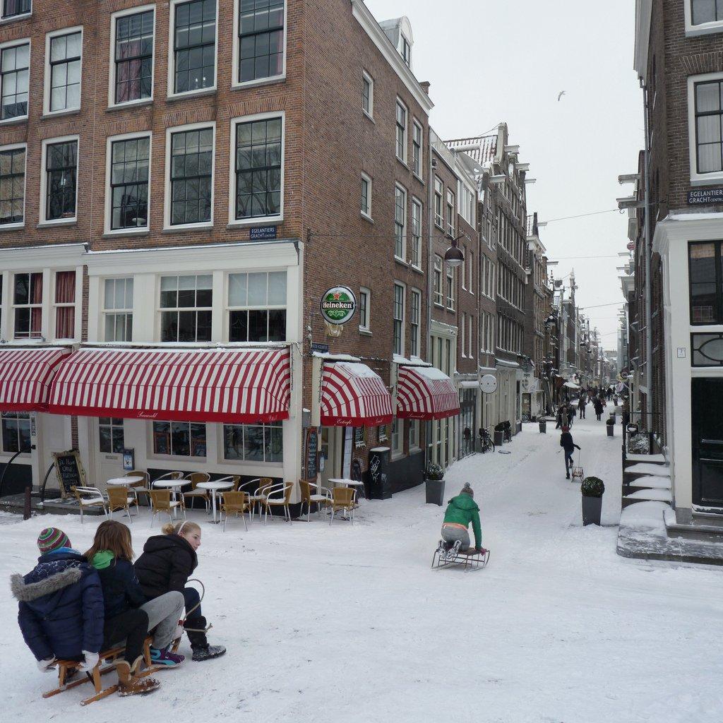 Amsterdam zima