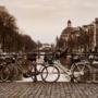 Amsterdam: zimowy spacer wśród kanałów [Duże zdjęcia]