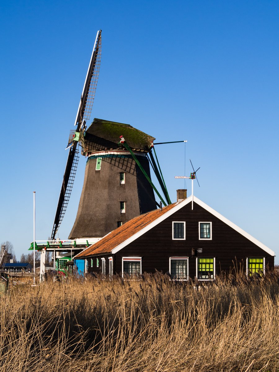 Holandia, Zaanse Schans [zdjęcia]