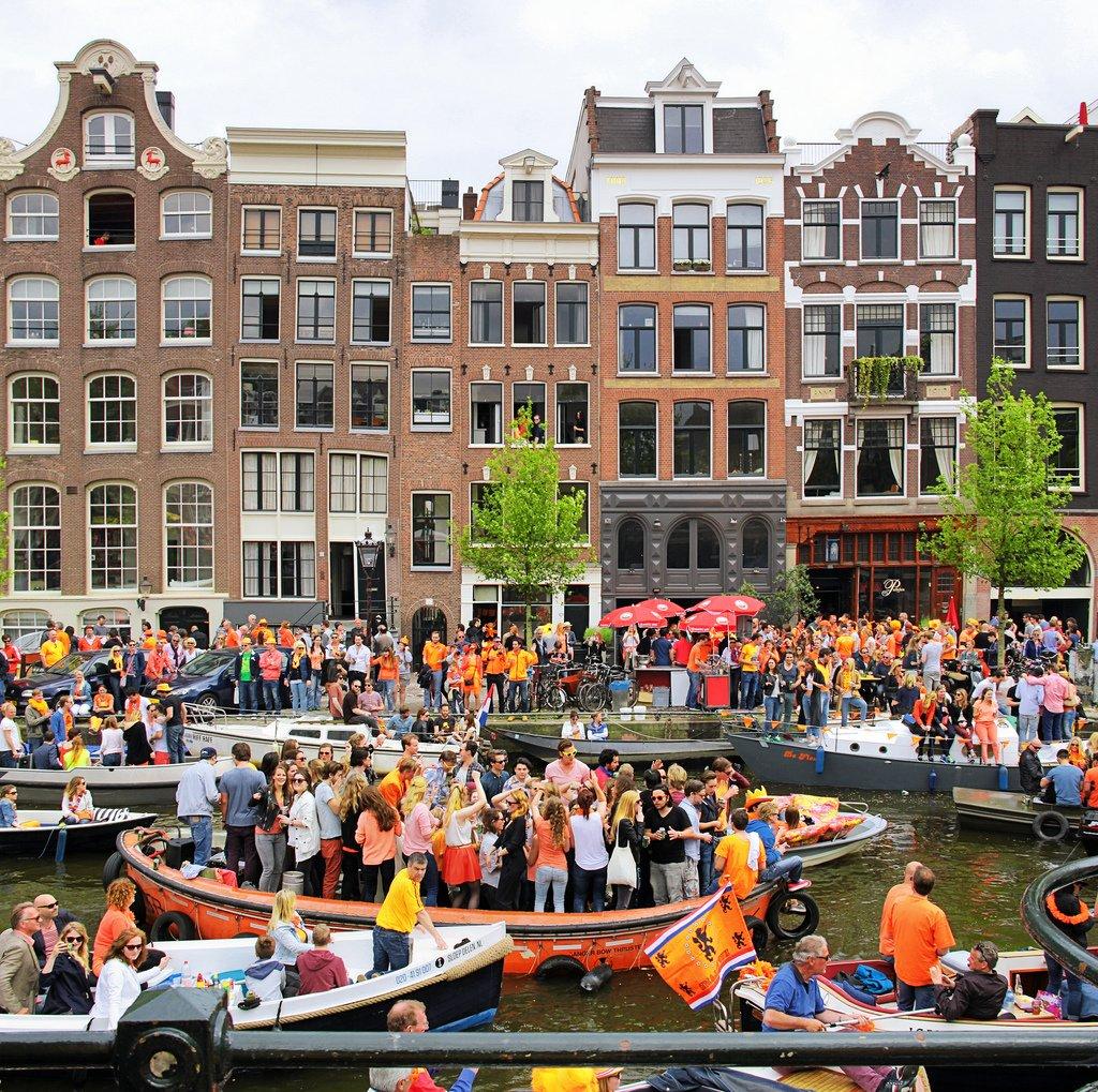 Holandia - Dzień Króla, Koningsdag, King's Day 2018