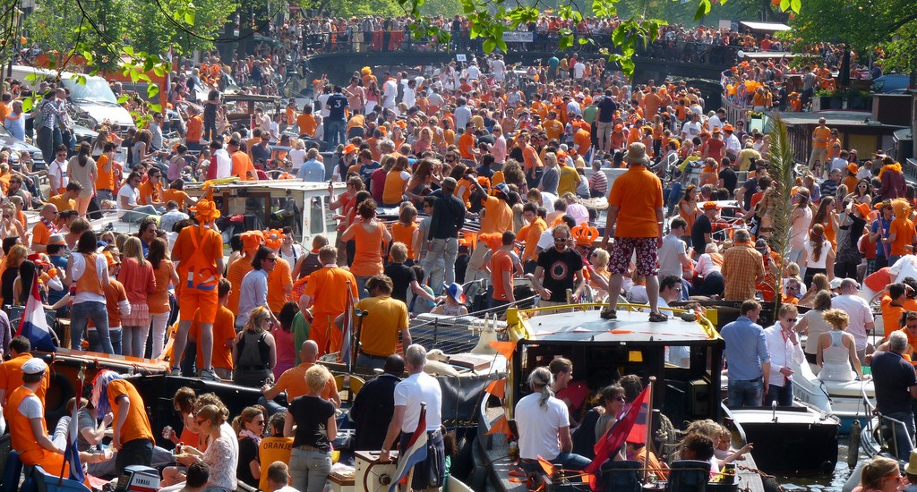 Holandia - Dzień Króla, Koningsdag, King's Day 2016