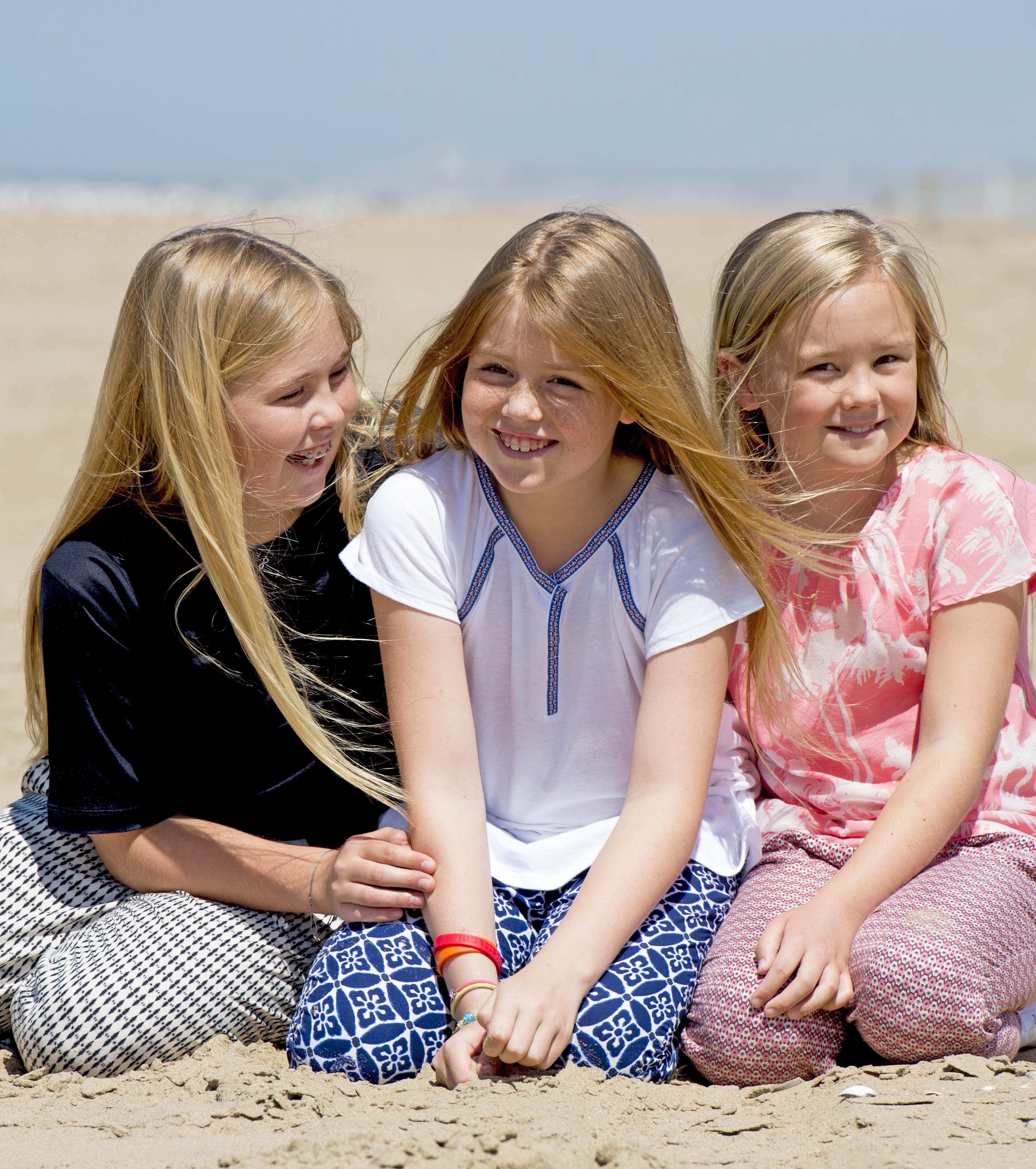 Księżniczka Catharine-Amalia, Alexia i Ariana
