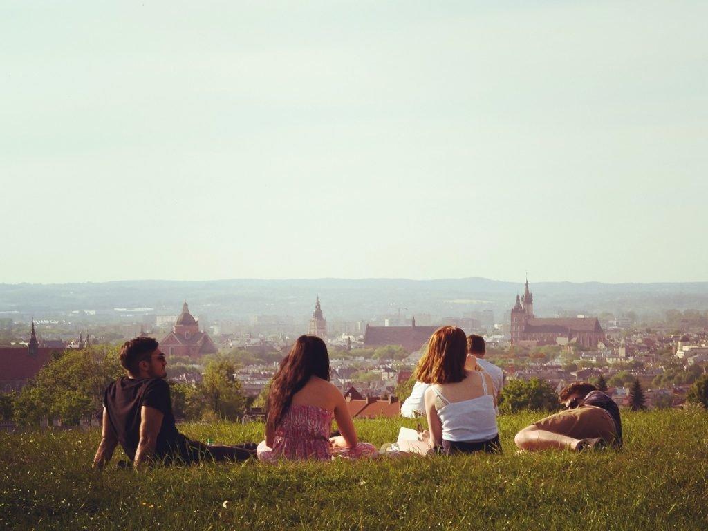 Weekend w Krakowie to piknik na Kopcu Krakusa.