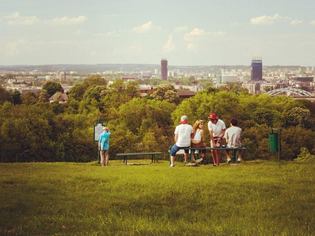 Weekend w Krakowie warto zakończyć wizytą na Kopcu Krakusa.