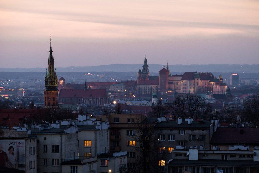 Kopiec Krakusa ciekawe miejsca w Krakowie