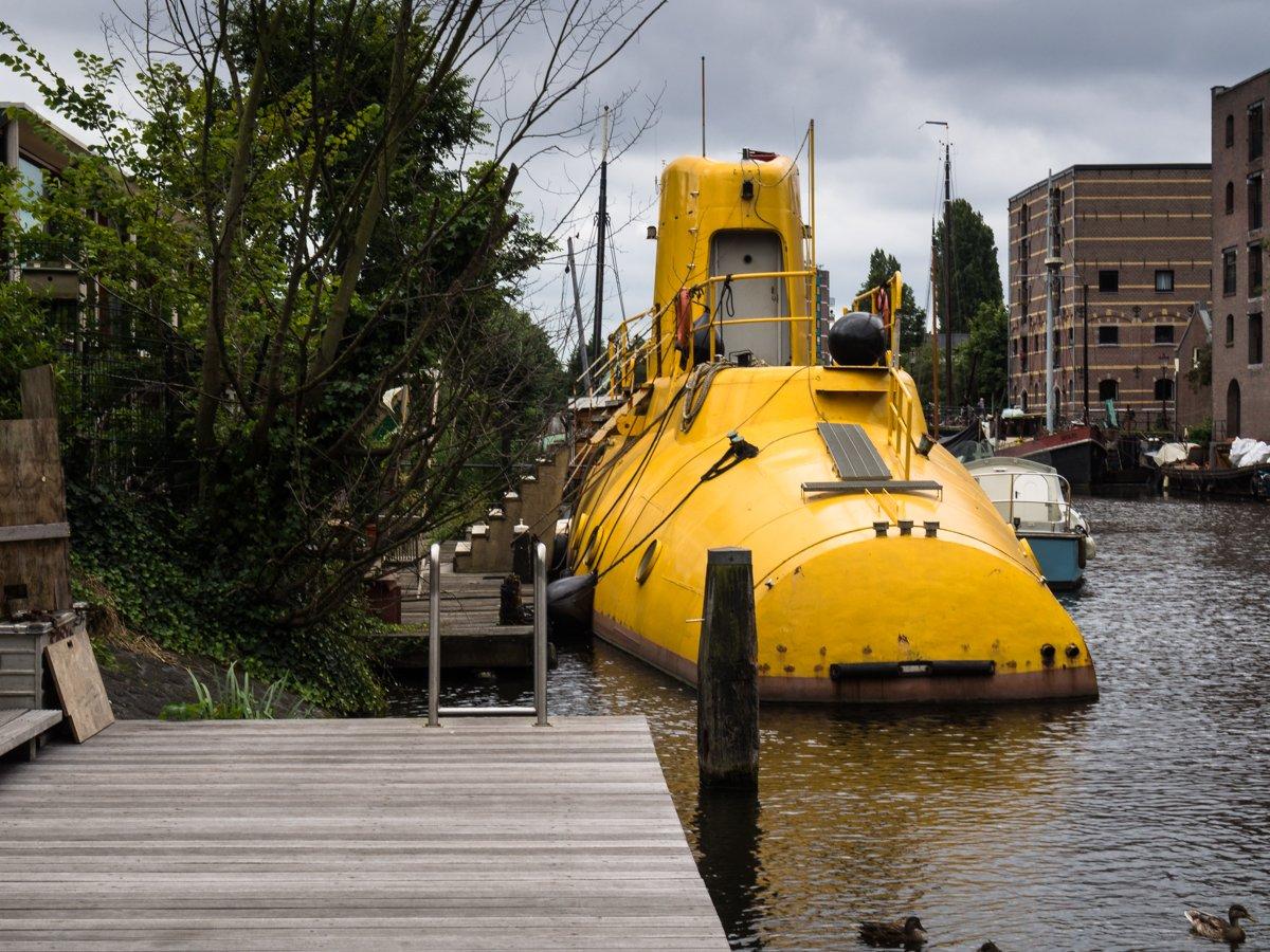 Żółta łódź podwodna