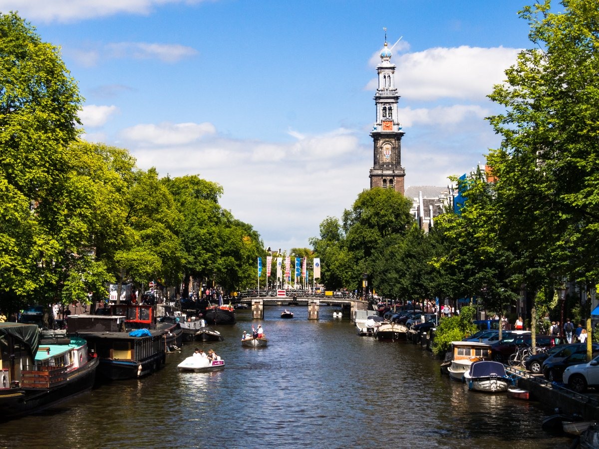 Z aparatem po Amsterdamie
