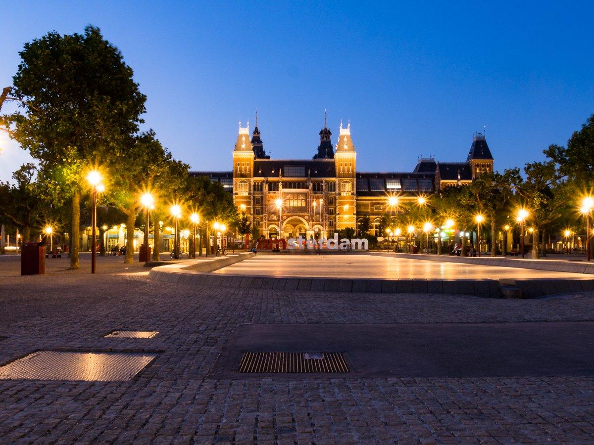 Rijksmuseum nocą
