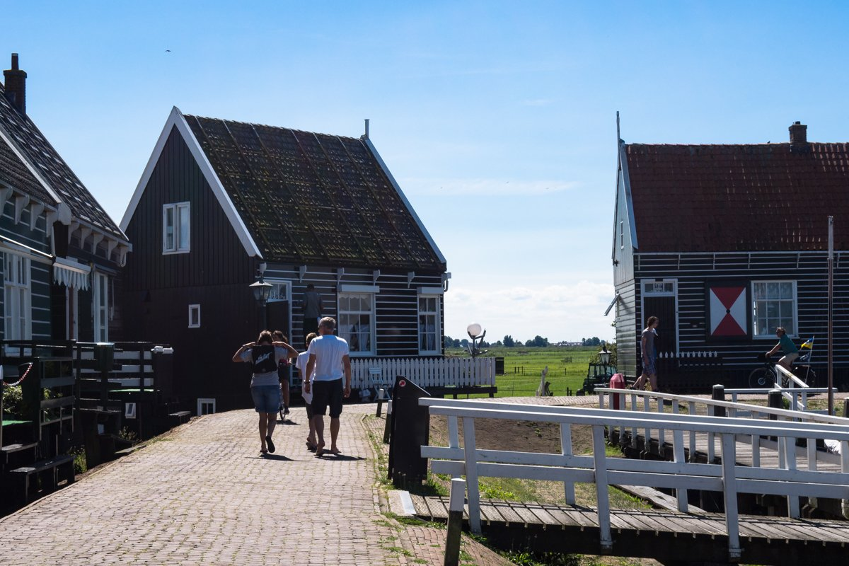 Holandia - Volendam, Marken, Edam - tradycyjne wioski rybackie
