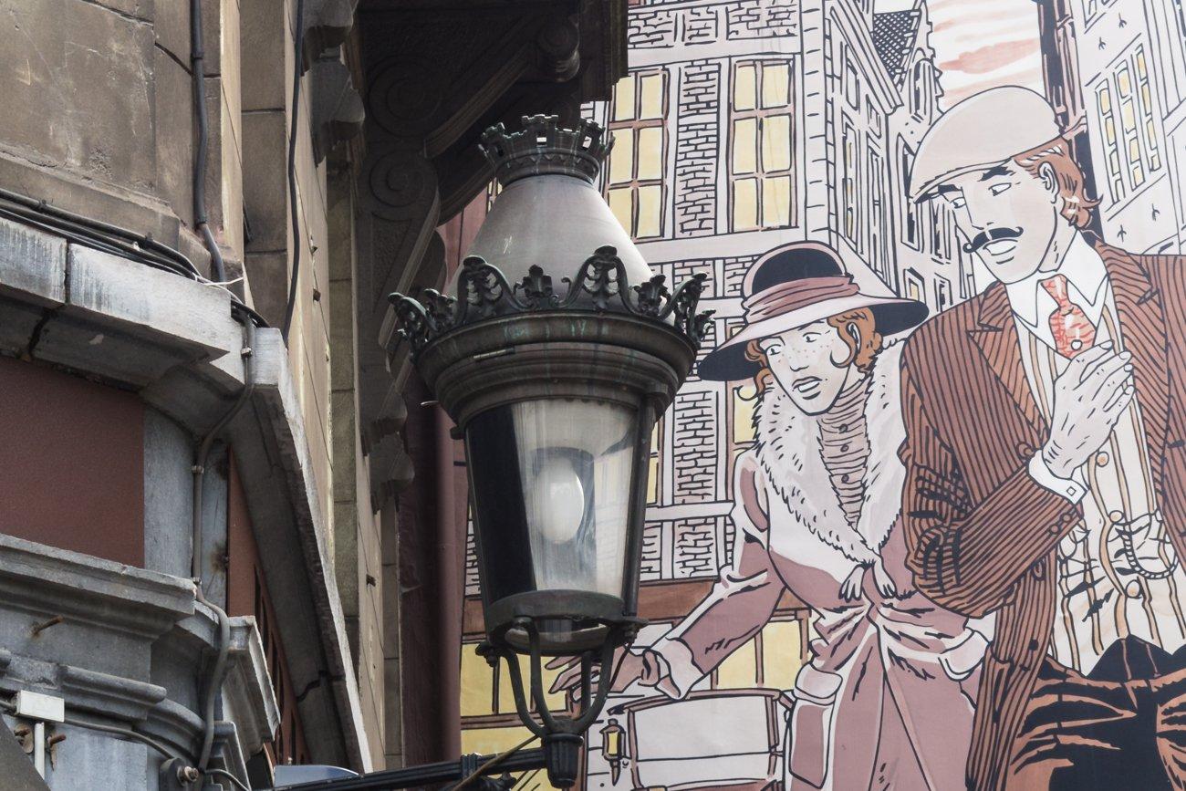 Bruksela szlak komiksu