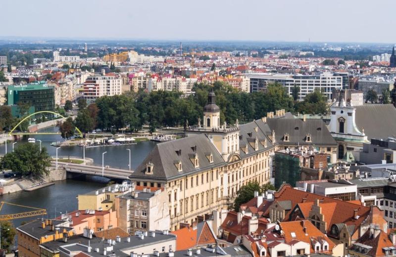 Pierwszy raz we Wrocławiu
