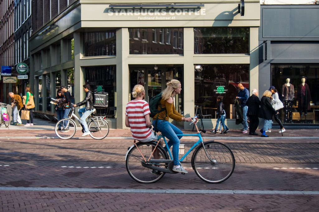 Rowery w Amsterdamie są podstawowym środkiem transportu