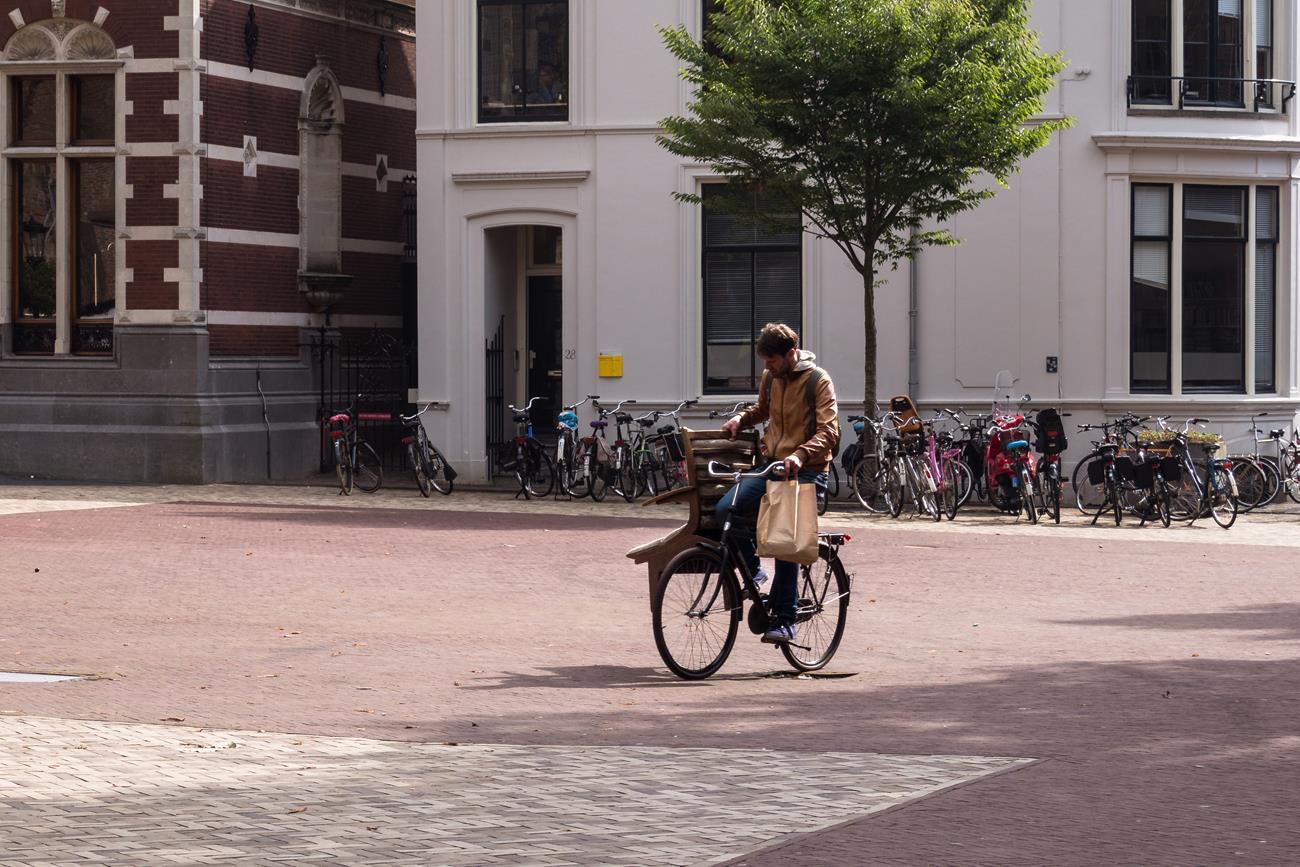 Jak przewieźć fotel rowerem? Ano tak