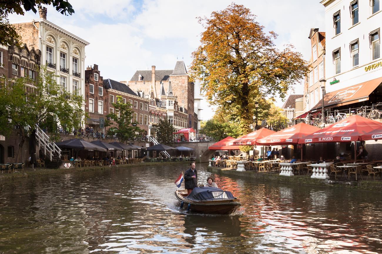 Rejs po kanale, Utrecht