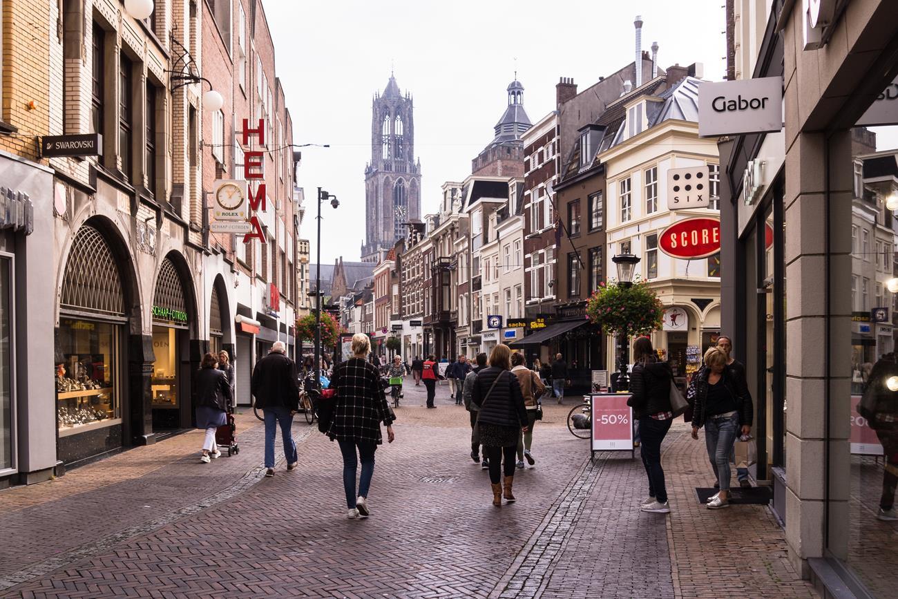 Utrecht - co zobaczyć? Na stówkę katedrę.