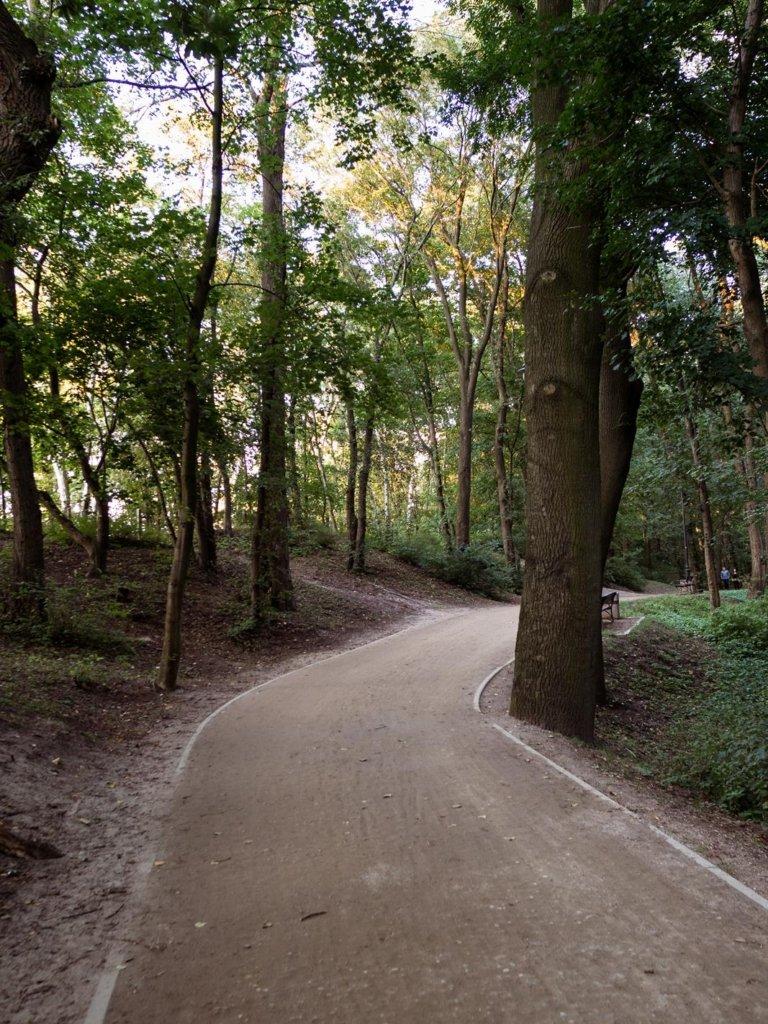 Weekend w Gdańsku to spacery! Park Haffnera nadaje się do nich wyśmienicie.