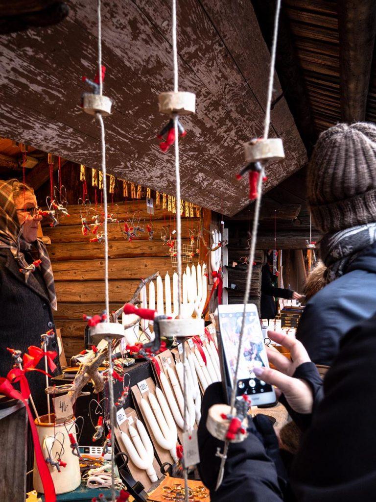 Sztokholm - jarmark bożonarodzeniowy