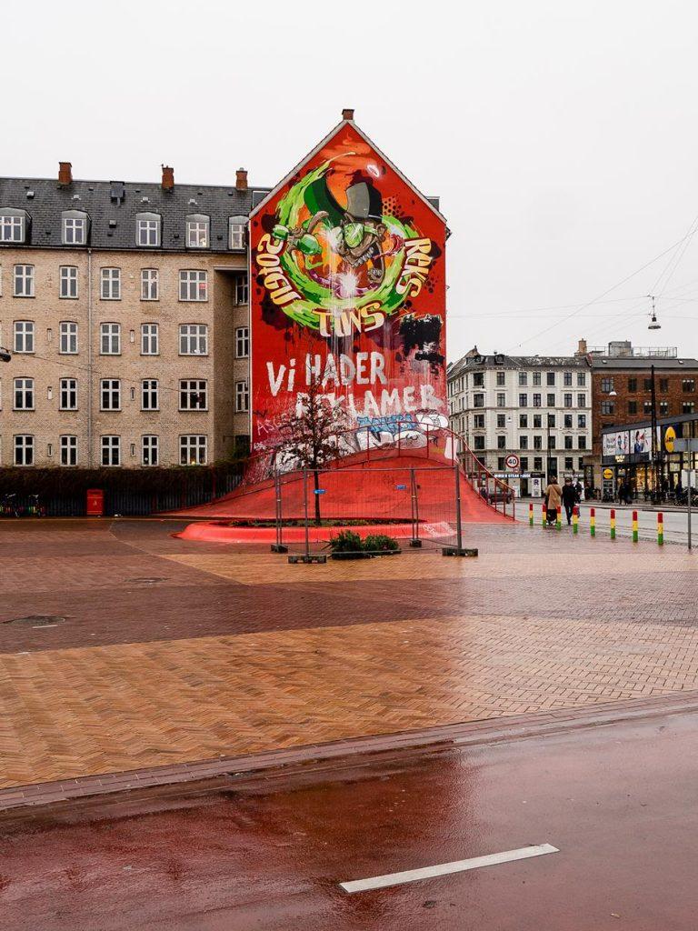 Norrebroruten. Ciekawe miejsce w Kopenhadze